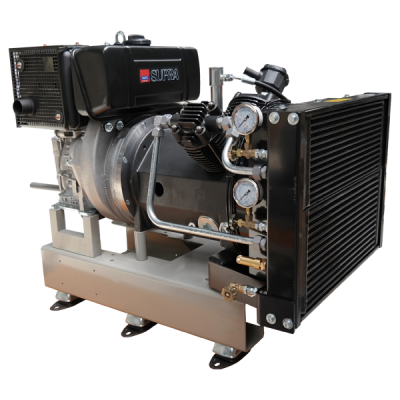 Diesel driven starting air compressor 2L-35HD